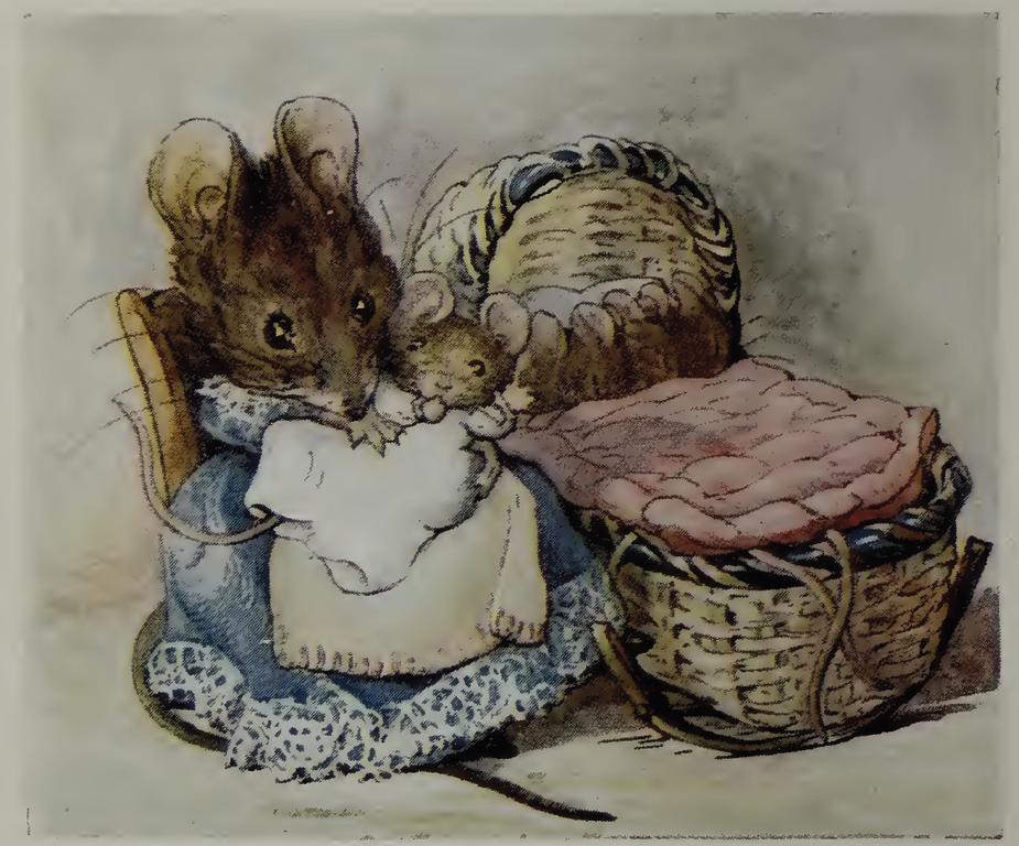 File Beatrix Potter Two Bad Mice Hunca Munca Babies Png