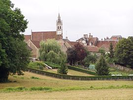 A general view of Beaumont-la-Ferrière