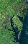 Beautiful New Landsat Mosaic of Chesapeake Bay (6123848805).jpg