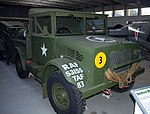 Bedford MWC water bowser, Imperial War Museum, Duxford. (30907244472).jpg