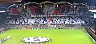 14c61f0e5 Tribune of Bad Gones before the match Olympique Lyonnais – Real Madrid in  2006.