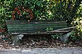 Benches old one - park of Haludovo Palace Hotel Malinska.JPG