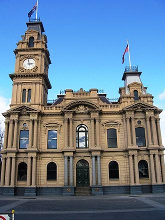 City of Greater Bendigo - Bendigo Town Hall