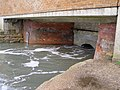Beneath the Dark Water bridge, Lepe - geograph.org.uk - 284349.jpg
