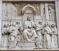 Benedetto da Maiano, pulpito di s. croce 05 prova del fuoco.JPG