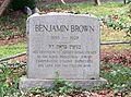 Benjamin Brown Gravesite - Roosevelt, N.J.jpg