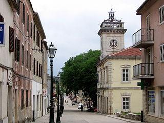 Benkovac Town in Zadar, Croatia