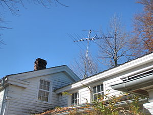 English: TV antenna