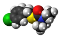 Benthiocarb molecule spacefill.png