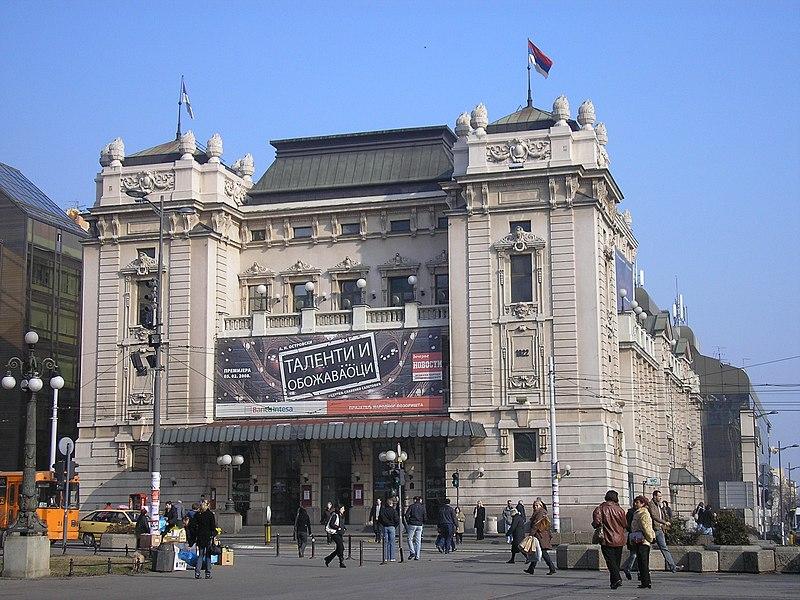 Srbija 800px-Beograd_-_National_Theater_02