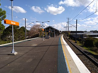 Berala railway station railway station in Sydney, New South Wales, Australia