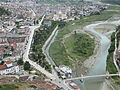 Berat, Albania, view from the castle.JPG