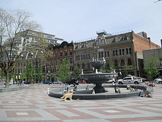 Gooderham Building - Berczy Park is a small park situated behind the Gooderham Building.