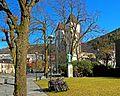 Bergen - Mariakirken og Snorremonumentet fra Dreggsallmenningen.jpg
