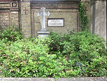 Berlin, Kreuzberg, Mehringdamm 21, Friedhof III Jerusalems- und Neue Kirche, Grab Wilhelm Adolf Lette.jpg