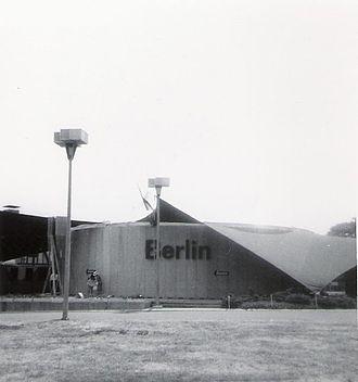 1964 New York World's Fair - West Berlin Pavilion, by Hans Wehrhahn