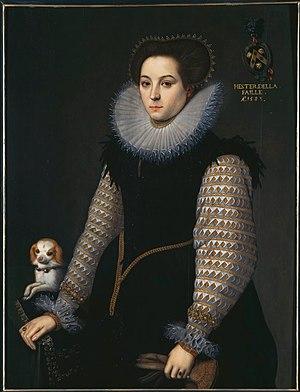 Bernaert de Rijckere - Portrait of Hester della Faille