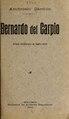 Bernardo del Carpio - drama caballeresco en cuatro actos (IA bernardodelcarpi00carr).pdf