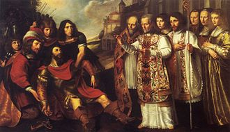 William X, Duke of Aquitaine - Saint Bernard of Clairvaux converts William of Aquitaine