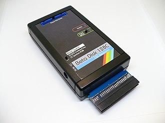 Beta Disk Interface - Czech clone Beta Disk 128C