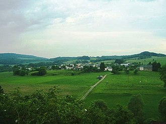 Bettel, Luxembourg - View of Bettel from the German border