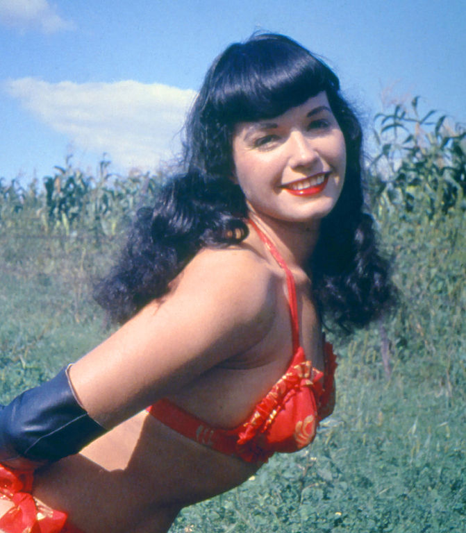Image result for bettie page