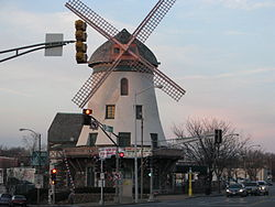 The Bevo Mill Restaurant, namesake of the neighborhood (located at the intersection of Morganford and Gravois)