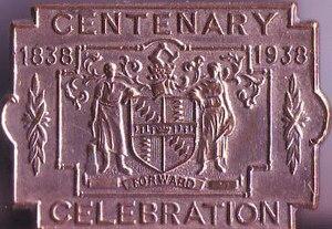 Coat of arms of Birmingham - Image: Bham 1938Badge