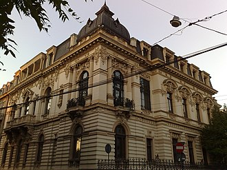 Romanian Academy - The Romanian Academy Library building