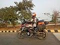 Bikers on Yamuna Express Highway IMG 20191208 155031 1.jpg