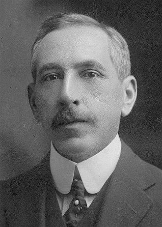 1907 Australian Labor Party leadership election - Image: Billy Hughes