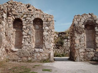 Bishapur - Ruins of Shapour Palace in Bishapur