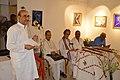 Biswatosh Sengupta Addressing - Biswatosh Sengupta Solo Exhibition Inauguration - Kolkata 2015-07-28 3311.JPG