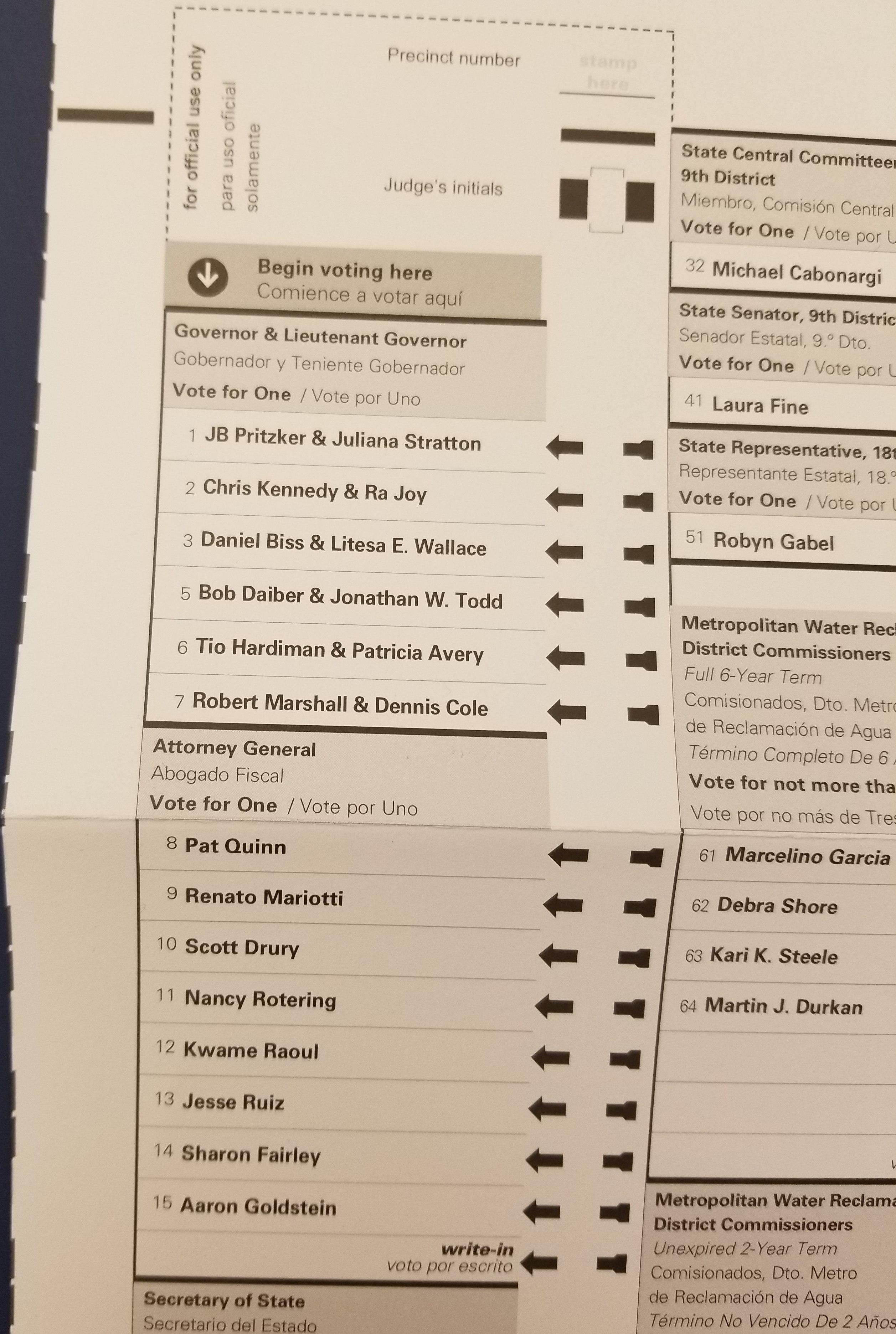 File:Blank Illinois primary ballot ...