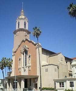 Blessed Sacrament Catholic Church (Sunset Blvd., Los Angeles).JPG