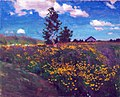 Blooming Meadow. A Study by Arkady Rylov (1923).jpg