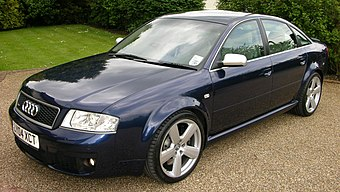 Blue Audi RS6 C5 sedan fl.jpg
