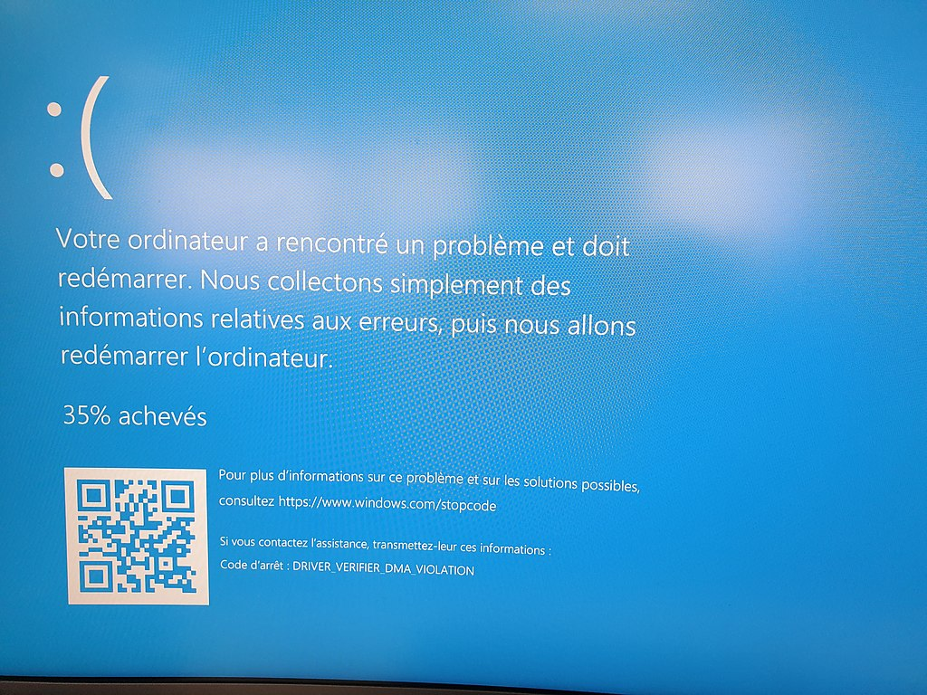 File Blue Screen Of Death On Windows 10 2019 02 21 Jpg