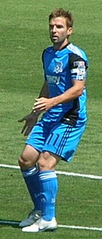 Bobby Convey at Earthquakes 2010-08-21 2.JPG