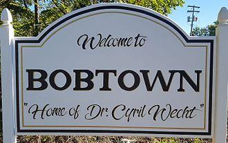 Bobtown, Pennsylvania - Bobtown Sign