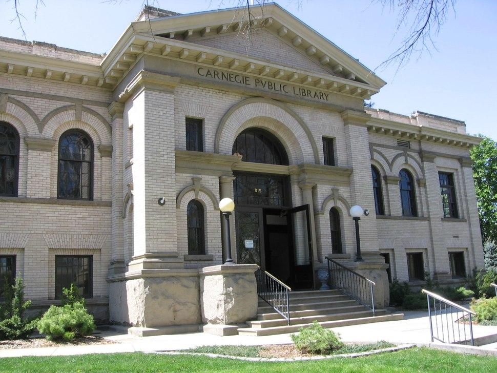 Boise, Idaho Carnegie library