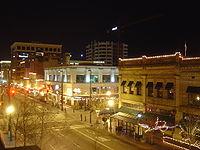 Noche en la ciudad de Boise, Idaho