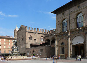 Palazzo Re Enzo - Picture of the Palazzo Re Enzo in Bologna