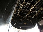 Bomb bay of Andrew Mynarski Memorial Lancaster Flickr 4839556615.jpg