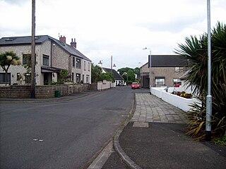 Boneybefore Village in Northern Ireland