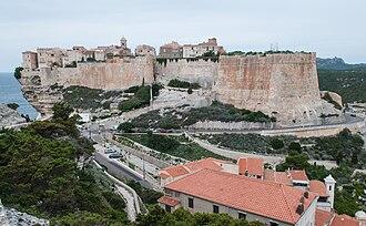 Bonifacio, Corse-du-Sud - The citadel