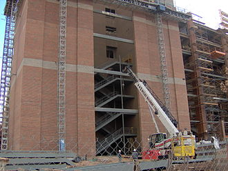 Boone Pickens Stadium - Construction work at Boone Pickens Stadium in February 2006