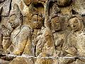 Borobudur - Lalitavistara - 005 E, Bodhisattva's Guidance to the Gods (detail 2) (11248098236).jpg