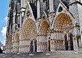 Bourges Cathédrale Saint-Étienne Fassade Portale 3.jpg