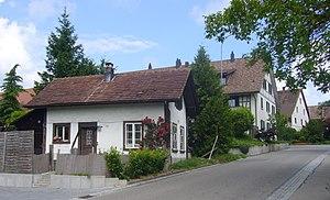 Brütten - Within the village of Brütten.